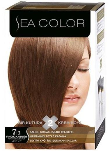 Sea Sea Color 2 Li Saç Boyası 7-3 Kahve
